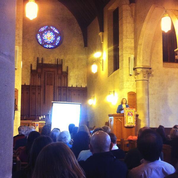 Nice pulpit @rachelheldevans! @austinseminary #MidWin14 http://t.co/ZB9YiTje8U
