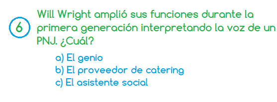 Pregunta sims 6