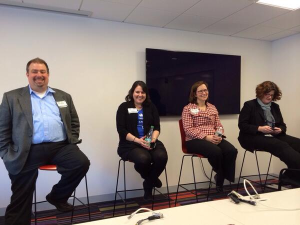 Use #socialmedia to Grow Your Business panel @IBMCambridge #ibmew: @eric_anderson @TammyKFennell @rhappe @bobbiec http://t.co/I6AWgPADmJ
