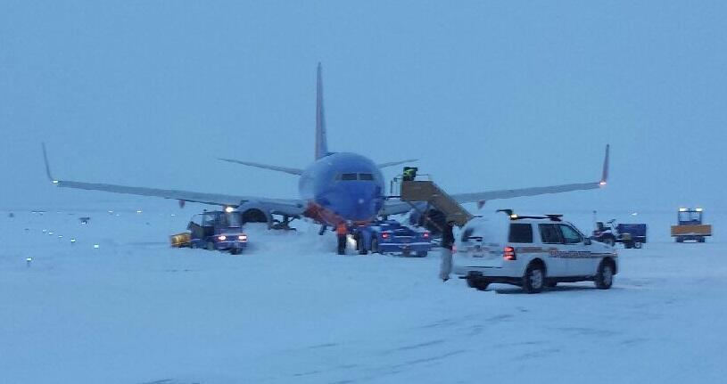 Southwest Airlines New York Kansas City  Feb Flight