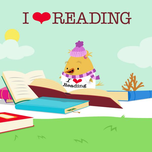 "February is #ILoveReading Month! Take our ""I <3 Reading"" Pledge and spread the reading love! http://t.co/0FBo1KoCr8 http://t.co/rpNJREv9ED"