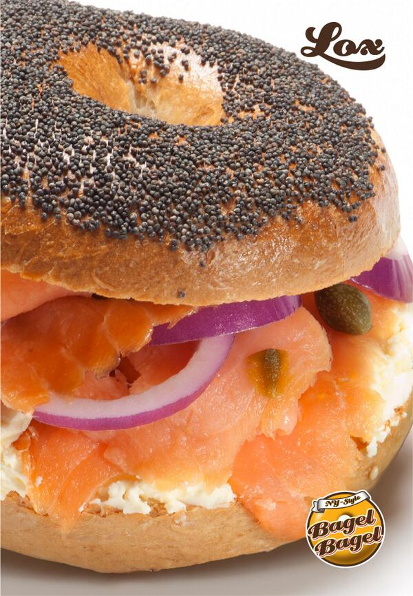 try our Lox Bagelwich - filled with smoked salmon, red onions, cream cheese and capers - what more could you want?! http://t.co/RkVgWkO5Ax