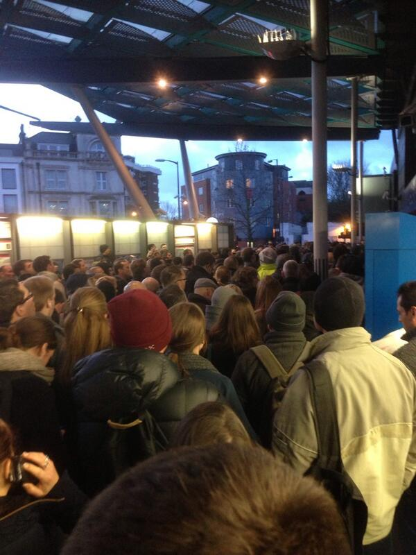 Finsbury Park station has yet to open. #tubestrike http://t.co/C8n9YFfD8r