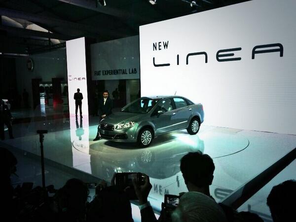 2014 Fiat Linea Facelift Unveiled