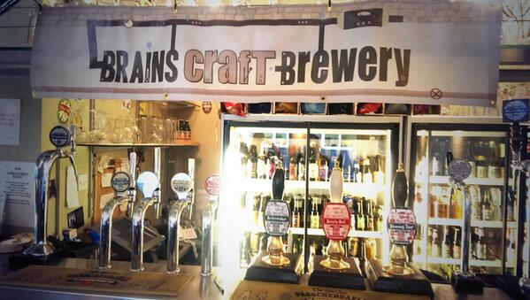 Brains tap takeover is a go! Come brave the gale force winds and tube strikes and grab some awesome beer! http://t.co/hPWUGARPMJ
