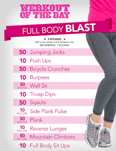 Get every muscle moving with the Full Body Blast #LRWerkout of the day: http://t.co/6SB7ycUo5j