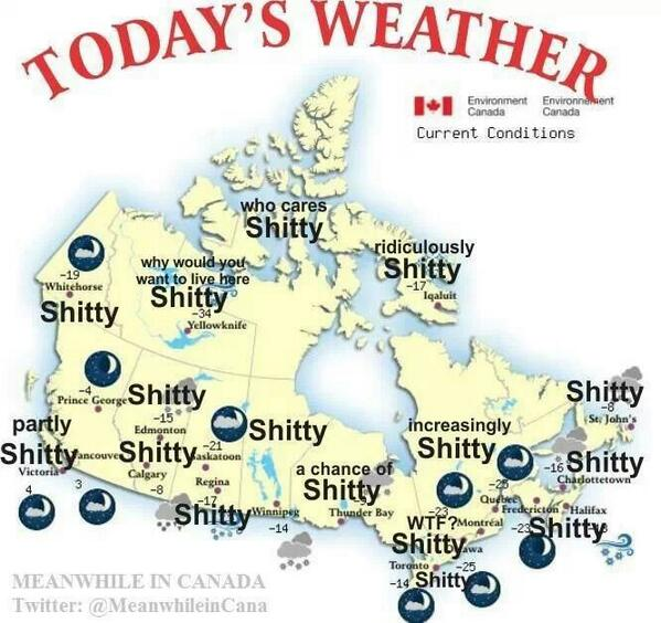 For all my TDot peeps...the forecast http://t.co/X4mCpAeK5H