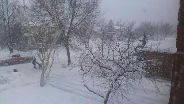 @CityNatasha @CityNews #citystorm I declare my street impassable.  Hubby will have to plow his way in. http://t.co/MRnDEQCyQc