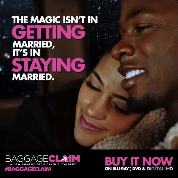 #BaggageClaim  is available on Blu-ray, DVD & Digital HD. Grab a copy B4 Valentine's Day!  http://t.co/QHksMjFBcE http://t.co/v5wQN3tWQq