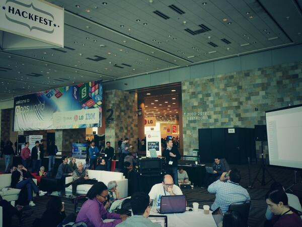 Let AppWorld TV HackFest begin #hackfest #hackathon #appsworld http://t.co/QDGQydOhOb