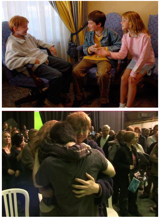 The first day they met, and the last day of filming. http://t.co/BU0hDnPuTX