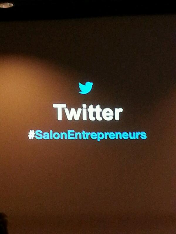 Bonjour ami(e)s lèves-tôt ! Ca va oui ?  #SalonEntrepreneurs http://t.co/MBygq720aS