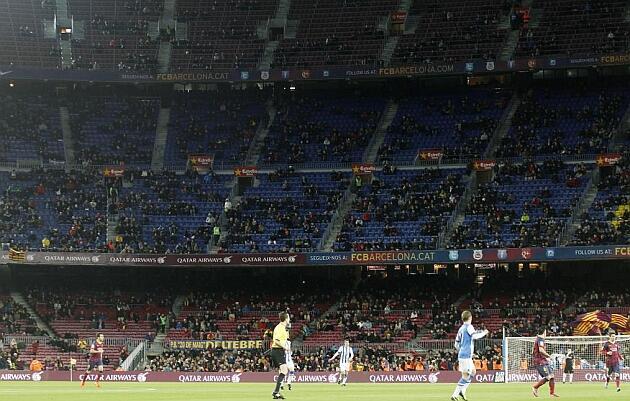 Игроки Барселоны жалуются на низкую посещаемость и позднее время матчей - изображение 1