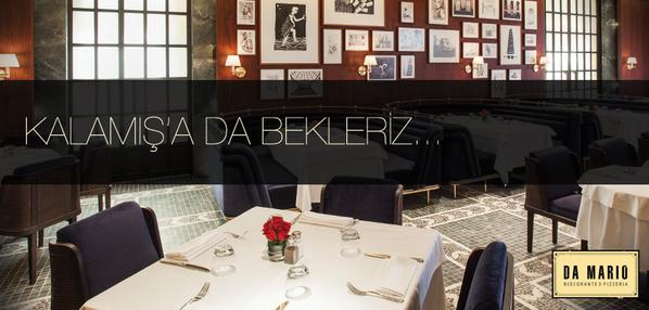 Da Mario Kalamış açıldı! İtalyan mutfağı artık Anadolu Yakası'nda da sizlerle. http://t.co/c0O4rMgjct