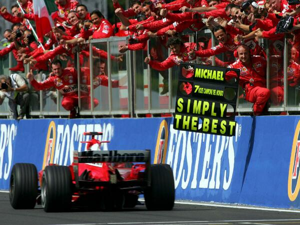 Sam Nauta On Twitter Michael Schumacher Simply The Best Ever And Ever Http T Co Zzeycybjb