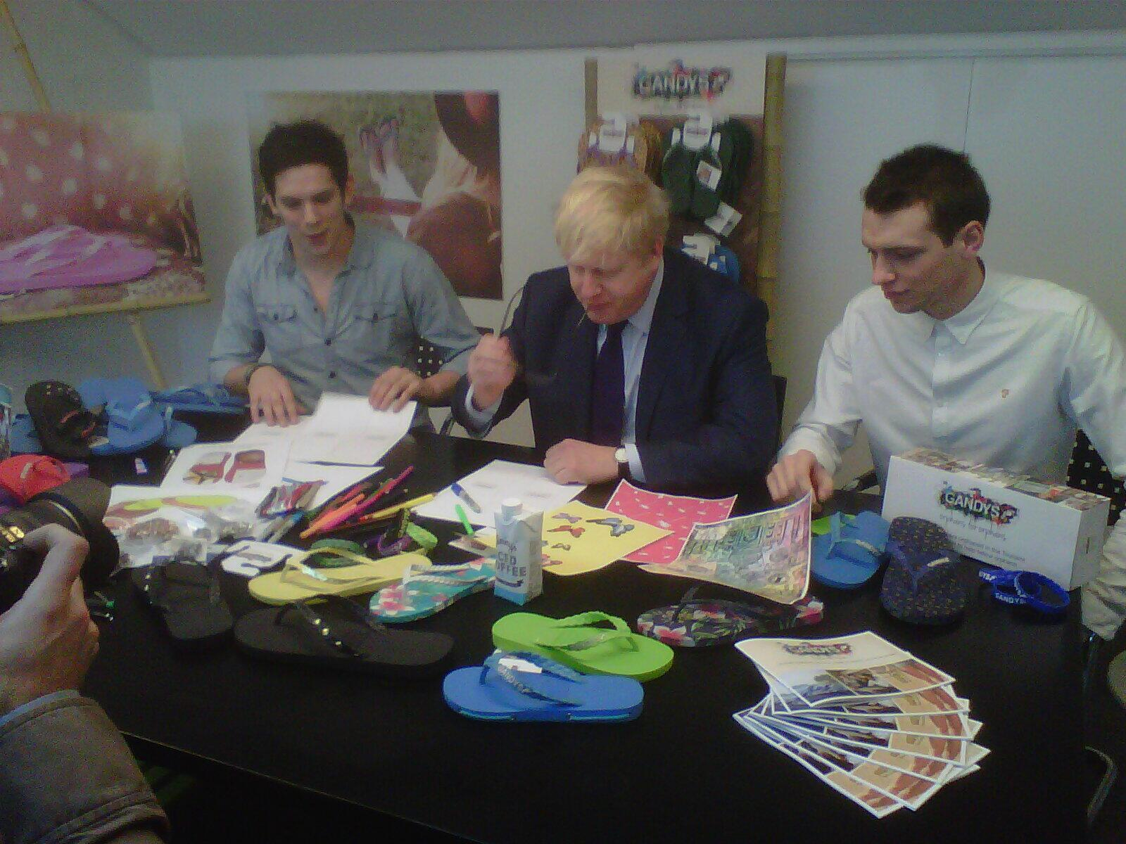 Went to Southfields to visit @Gandysflipflops new office, great eg of entrepreneurship & a fast-growing Ldn business http://t.co/TYI3ycMfsR
