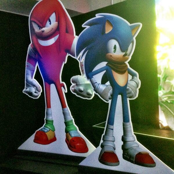 The new look for Sonic & Knuckles in Sonic Boom #sonicboom http://t.co/X5zR07FSkK