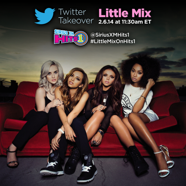 #Mixers! @LittleMixOffic are answering YOUR @Twitter questions TODAY at 11:30a ET. Tweet them using #LittleMixOnHits1 http://t.co/RMJlnv5zvV