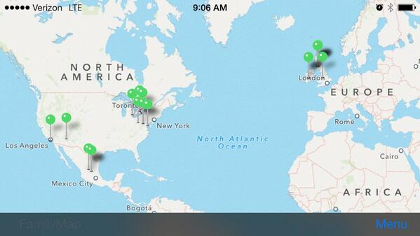 .@FamilySearch CEO talked about Family Map app. Here is mine > still building it #RootsTech http://t.co/UYxnTIKcSK