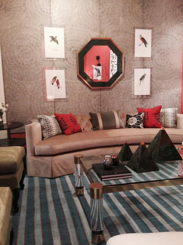 Schumacher On Twitter At Kembleinteriors Loving Our Feather Bloom