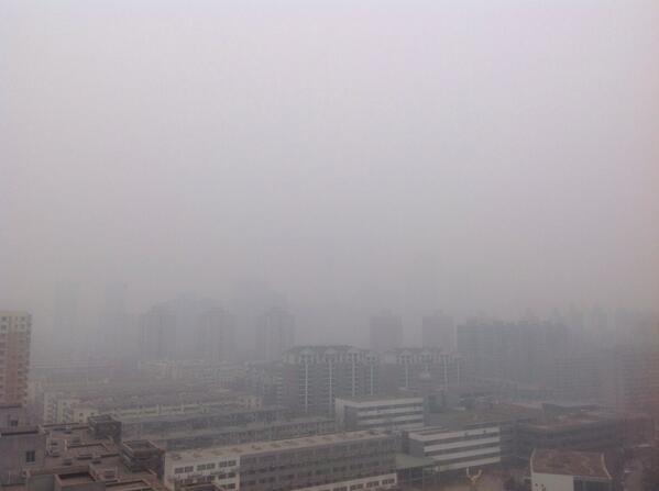 Beijing skyline today... http://t.co/P3EPETji1k