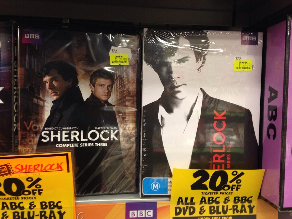 Twitter / MoniqueHennessy: Look who's on sale @JBHiFi. ...