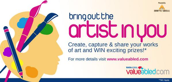 #ArtyCulture gives you an opportunity to unleash the artist in you & win exciting prizes! http://www.valueabled.com