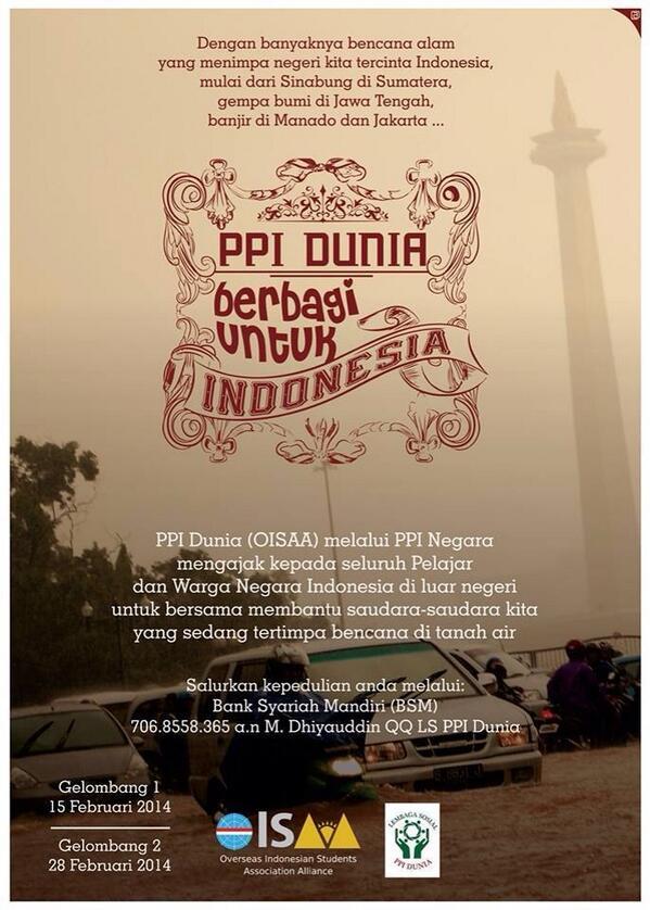 35+ Ide Contoh Poster Penggalangan Dana Banjir - Life of ...