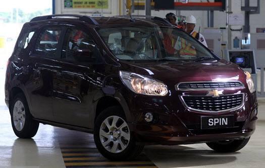 Chevrolet Indonesia On Twitter Chevrolet Spin Dengan Warna Very