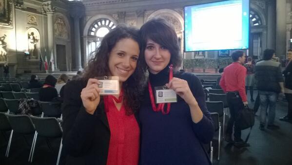 #mwf2014 Here we are: i badge ci sono, l'hashtag pure e anche una buona dose di emozione! #sveglia museo! http://t.co/DRh8V5kNND
