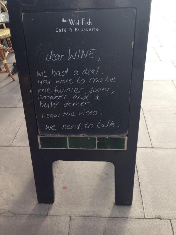 Dear wine.... http://t.co/5x3BYj8aYZ