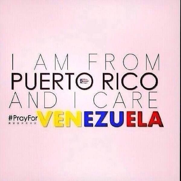 Mi Corazon y mis oraciones con TODA la gente de Venezuela. #OracionPorVenezuela #PrayForVenezuela #PazParaVenezuela http://t.co/HC16DHBc1v