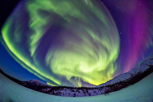 北極圏まで来て出会えた昨夜のオーロラクライマックス。 pic.twitter.com/nlHMT68U1j