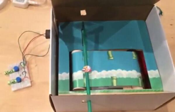 Sadistic: Flappy Bird in a Box Is a Real-Life Flappy Bird http://t.co/h7bliy3lCl http://t.co/KZFs2Axd0j