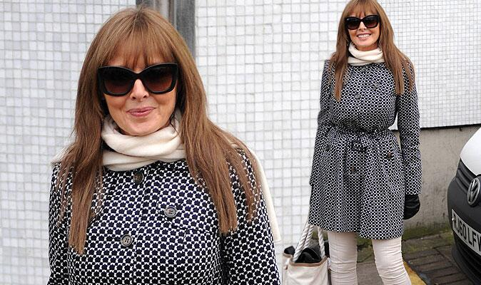 "RT @Daily_Express: Carol Vorderman shows off her hourglass figure in stylish coat http://t.co/pOSl9YDsOo http://t.co/KZgTpcsZpg"" ooh matron"