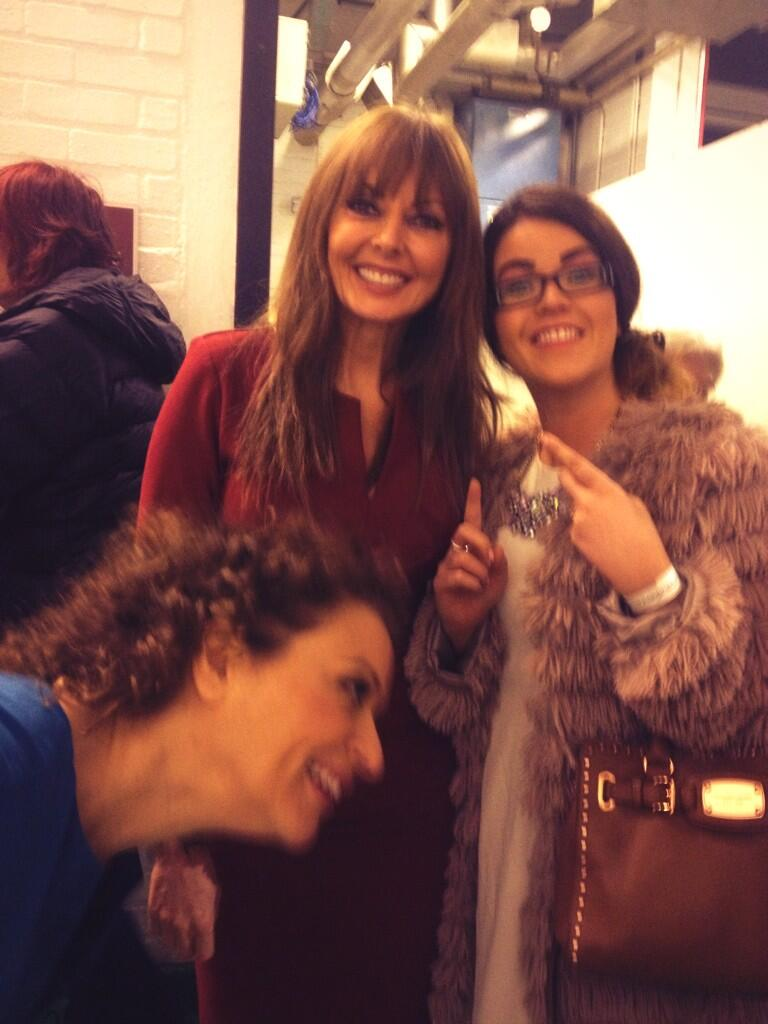 RT @hutchygirl: @carolvorders @nadiasawalha Thanks for the lovely photo today ladies! Fab show.. #Photobomb #halftermfun4teachers http://t.…