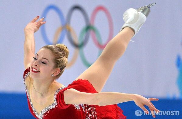 2014 Sochi Figure Skating - Magazine cover