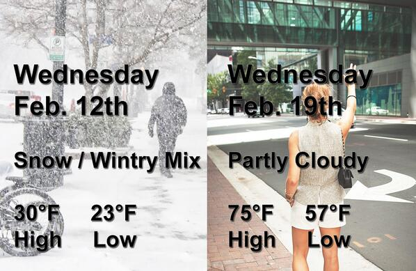 only in Charlotte! #clt #weather http://t.co/CY8mz75ihg