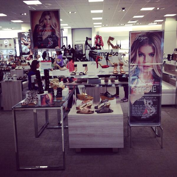 It's #almosttime! @Fergie is IN the #greenroom ready 2 meet u 4pm at @Macys!