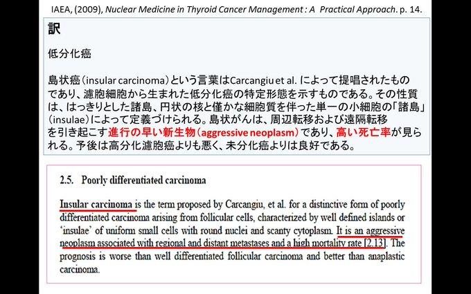 cyborg0012さんによる「低分化癌」についての解説