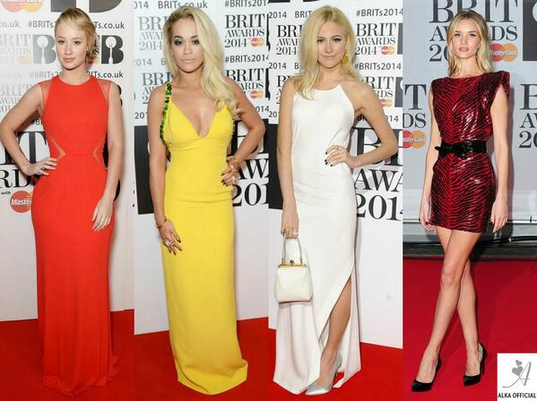 Best Dressed Ladies at 2014 Brit Awards: Iggy Azalea, Rita Ora, Pixie Lott, Rosie Huntington-Whiteley.. #BritAwards http://t.co/i2kWcf6k9U