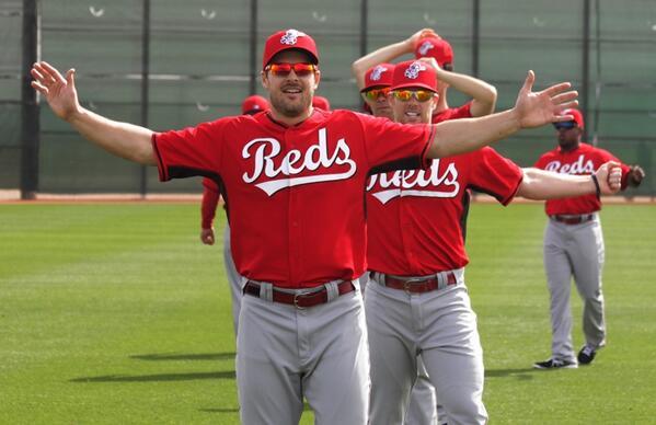 I missed baseball thissssss much!  #JoeyVotto #FaceOfMLB http://t.co/eQxB8cRSHf