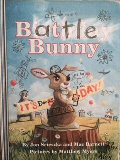 If u haven't seen Battle Bunny, its a must read mentor text.Perfect for writers who like to think outside box. #tcrwp http://t.co/1JSRQbyChT