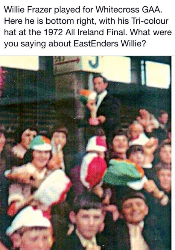 Don't you just hate it when embarrassing old photos of you turn up? Here' one wee Willie Frazer won't like: http://t.co/jMR3bQqlku