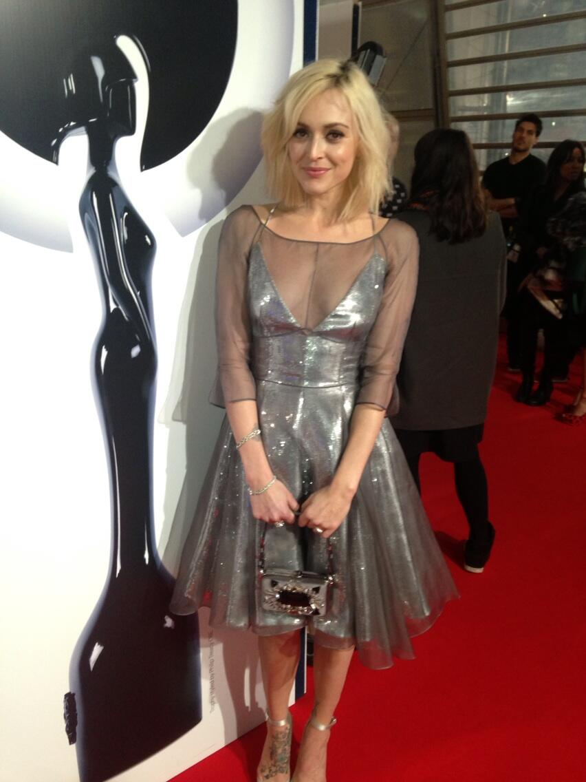 Thanks prada for this dress. ✨#brits http://t.co/RQkIcFry7m