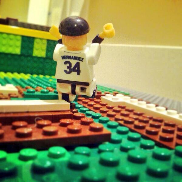 Love The Lego Movie? Don't miss the sequel starring the #FaceofMLB #FelixHernandez. http://t.co/stuBtvQrFI