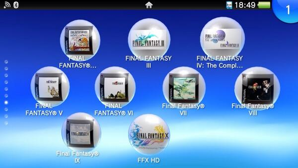 Finally, the whole family is together. This is basically why I bought a Vita. http://t.co/euKIS1W6u4