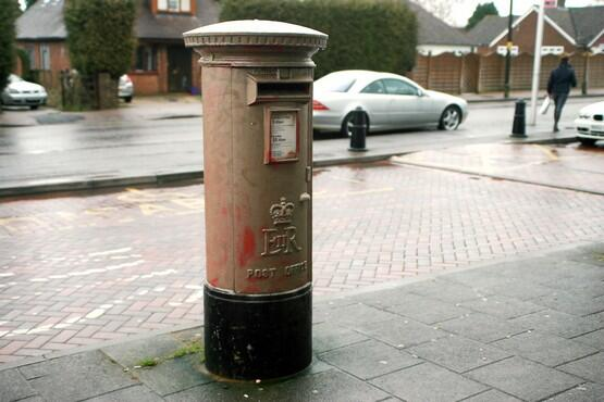 Postbox sprayed gold in Lizzy Yarnold's home village of #Kingdsdown after Royal Mail snubbed idea Via @7oakschronicle http://t.co/NLBmGERjRp