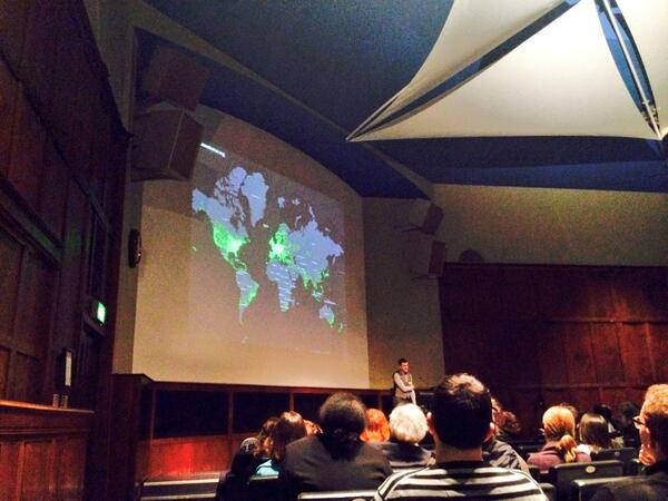 Geography of @the_zooniverse #ccs14 (nice use of maps @RGS_IBG) http://t.co/e999sKiYBz