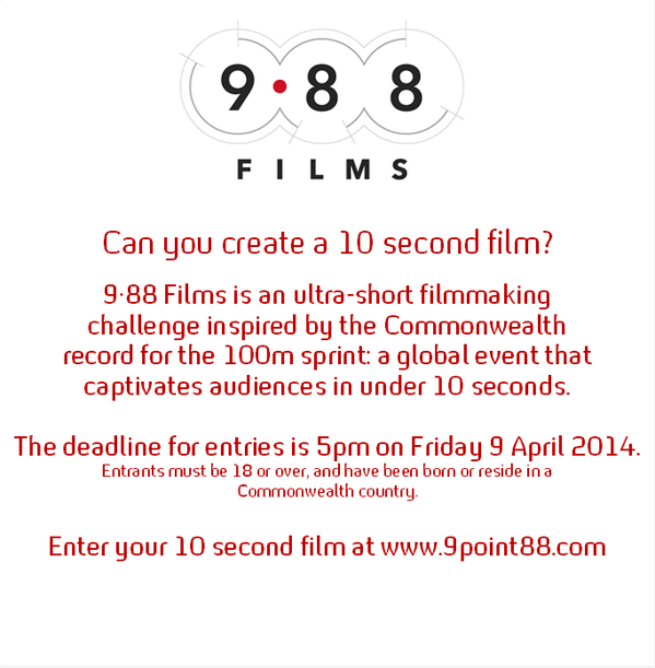 Do you enjoy creating and producing your own short films, and would like a bit of a challenge? Check this out! http://t.co/QlQvr36mfy